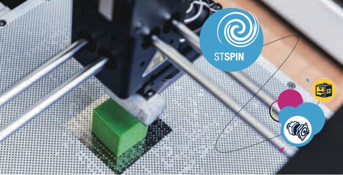 World Record : STSPIN, the Smallest Single Chip Motor Driver, Still With Even More Features