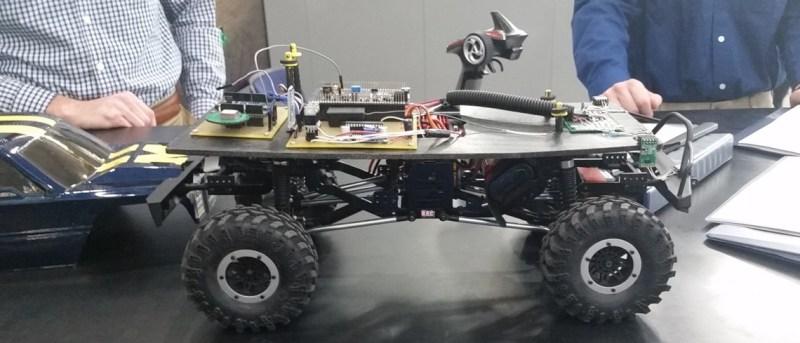 The driverless car from UM-Dearborn