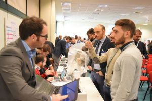 Networking at the NeaPolis Innovation Technology Day