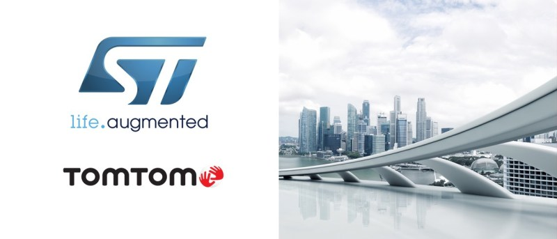 TomTom and ST Partner to Bring Map APIs to Developers