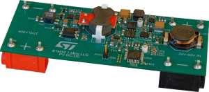 Digital MPPT solar converter demonstrator board illustration from ST