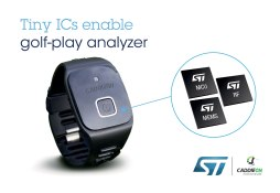 caddieon golf analyzer makes a great gift for the golfer in your life.