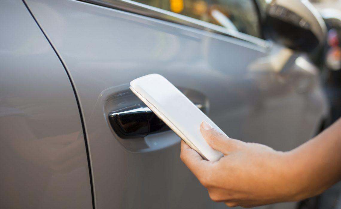 NFC opens locked doors