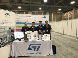 ST Booth ASEE 2018