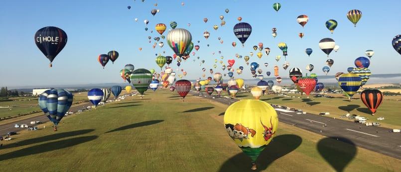 SensorTile.box Takes Flight on a Hot-Air Balloon