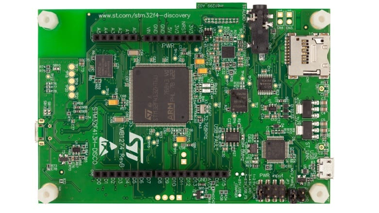 A Board with an STM32F413