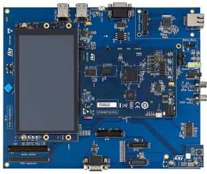 The STM32MP157A-EV1