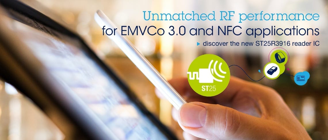 ST25R3916-EMVCO, The EMVCo 3.0 Reference Design to Start 2020 on the Right Certification
