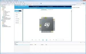 A screenshot of STM32CubeIDE