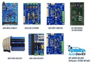 All the boards in the AEKD-AFL001 kit