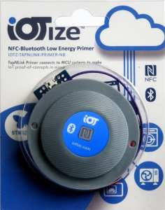 The box of the TapNLink Primer NFC-BLE