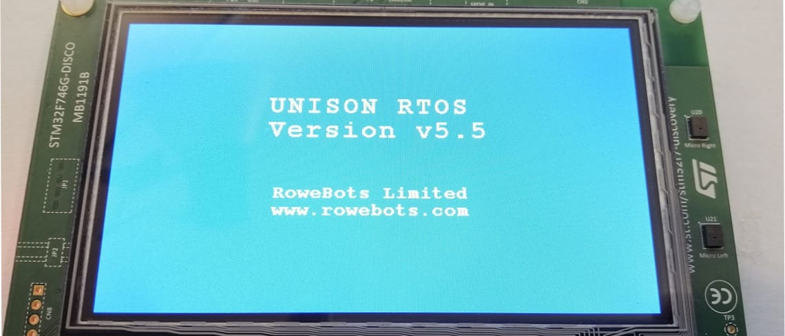 Unison RTOS for STM32 at the Crossroads of Hardware and Software