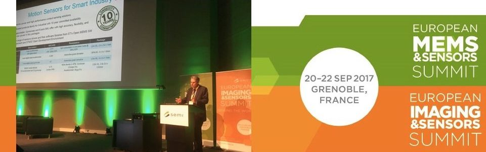 CEO Carlo Bozotti speaks at SEMIEurope