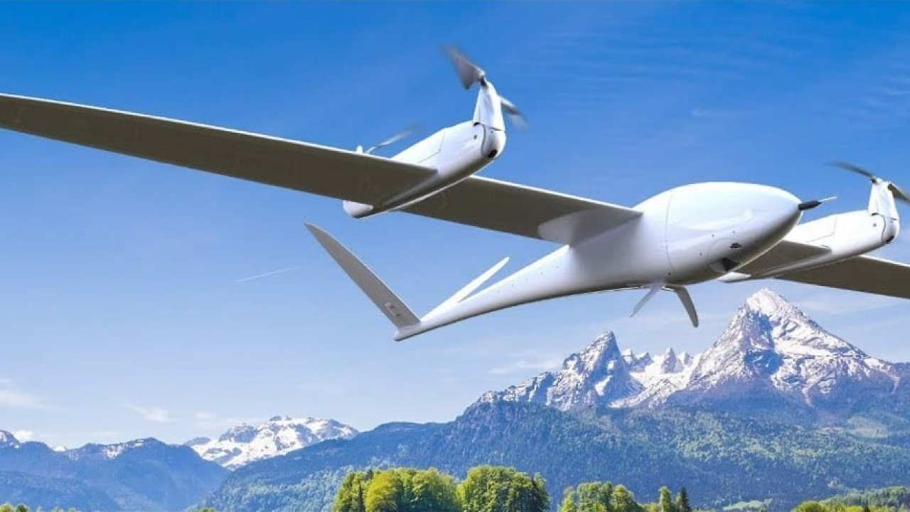 EW18: The World's Most Compact VTOL Drone in the STM32 Fan Zone