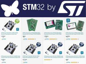 STM32 on Amazon