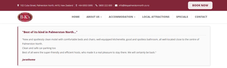 Customer Reviews On Website - STAAH