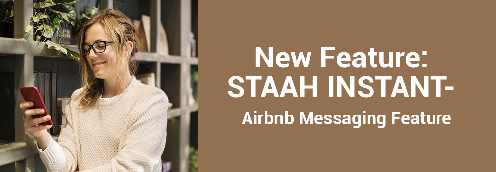 STAAH INSTANT Airbnb Messaging Feature