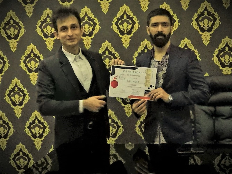 Saif Jugari with Mr. Sunian Yousuf (Managing Director - Four Apple)