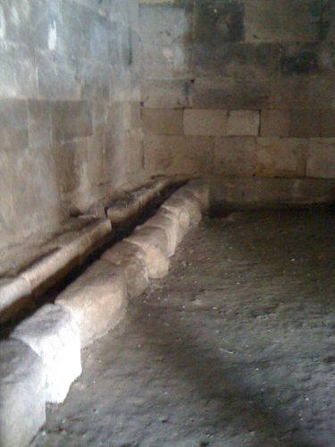 caravanserai indoor plumbing
