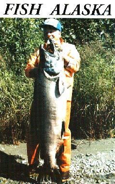 97.25-pound world record king salmon