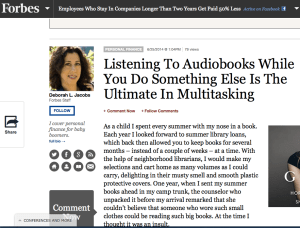 Forbes audiobook story