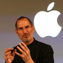 Steve Jobs, co-founder, chairman, and chief executive officer of Apple Inc.