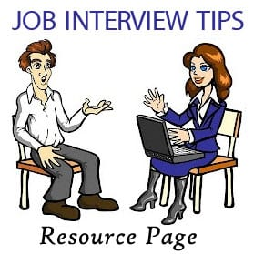 Job Interview Tips Resource Page