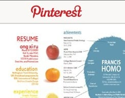 Using Pinterest to Search for a Job