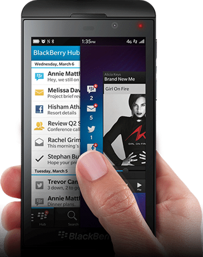 Business and personal: Blackberry 10 creates the balance