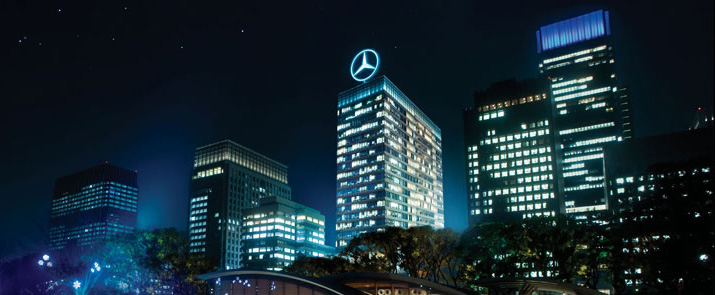 Mercedes Benz Tower Beijing