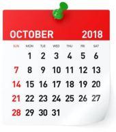 Oktober 2018   Gemeinde-Kalender-Informationen