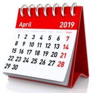 April 2019  Gemeinde-Kalender-Informationen-Veranstaltungen