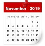 November 2019  Gemeinde-Kalender-Informationen-Veranstaltungen