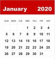 Januar 2020  Gemeinde-Kalender-Informationen-Veranstaltungen