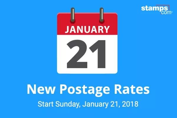 usps announces 2018 postage