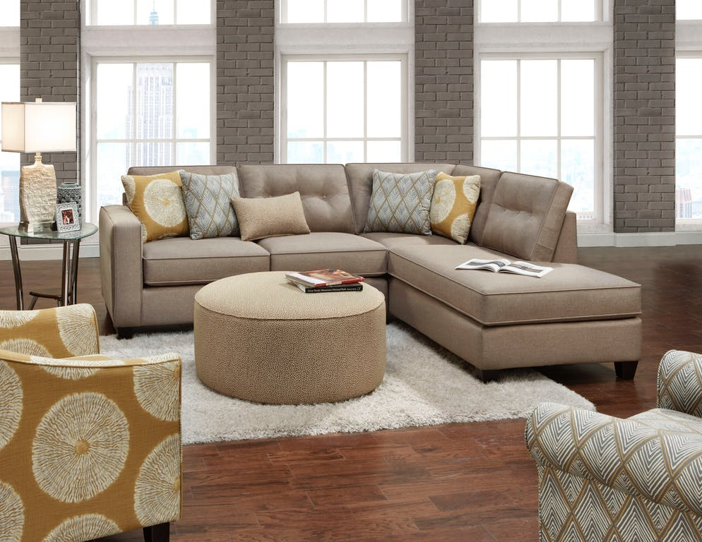 best sectional sofas for the money with chaise and recliner in every price range star furniture maxwell 2 piece