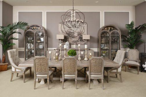 Arch. Salvage 5-Piece Dining Room Set