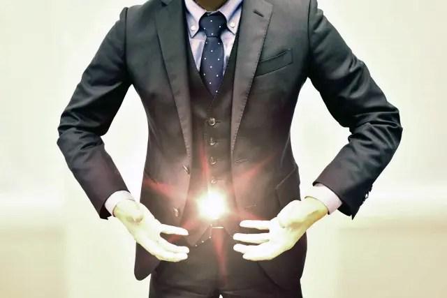 ヴェストのサイドポケットへ・・・このように見せびらかすのはどうかと?
