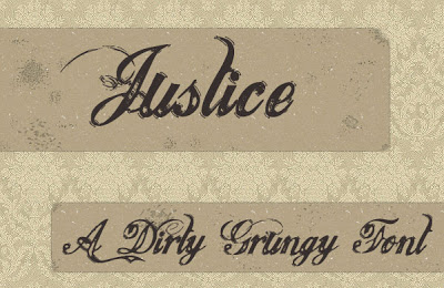 Download Justice Free Font for Personal Use