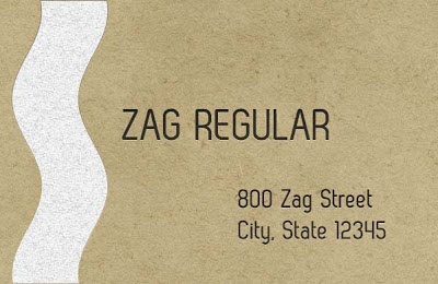 Download Zag Regular Font with Commercial Use License