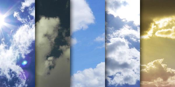 textures, cloud textures