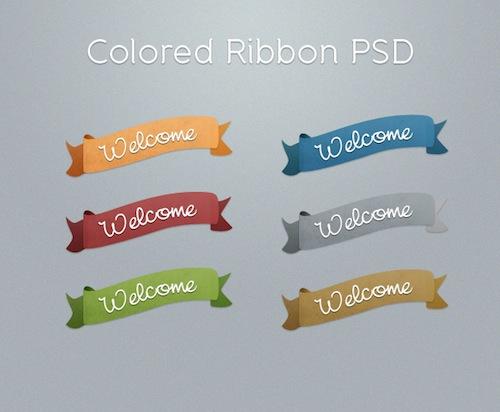 free ribbon, free ribbons, colorful ribbon graphics, ribbon psd free, free ribbon psd, free psd,