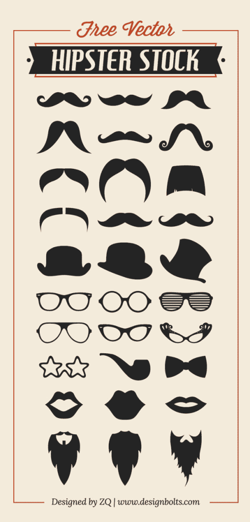 moustache, hats, hipster, hipsters, photoshop hipster, hipster vector