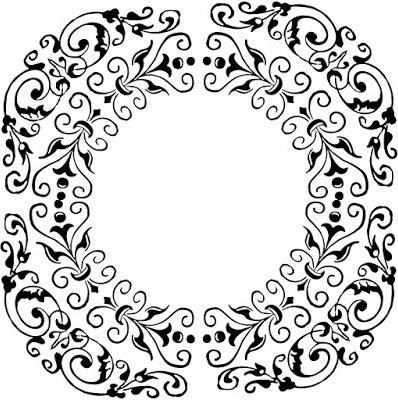 vintage frame, floral frame, leaf frame, decorative frame,