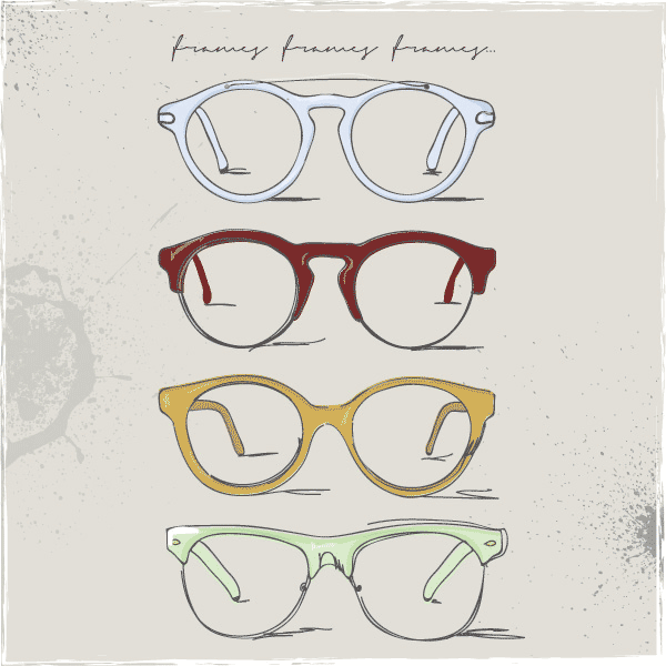retro glasses, eye glasses clipart, free clipart, art clip, free vector, free vectors
