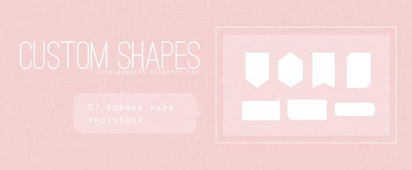 custom shapes, free shapes, photoshop shapes