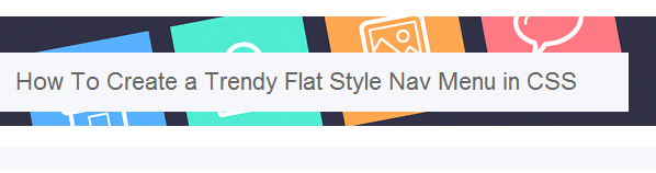 Flat Design Tutorial, web design, flat ui, flat design