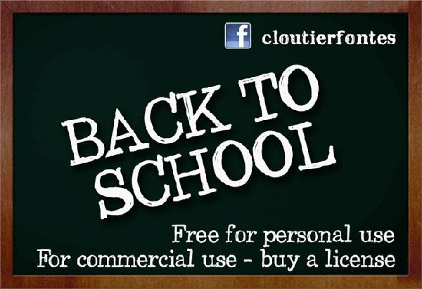free chalk board fonts, free fonts, free font