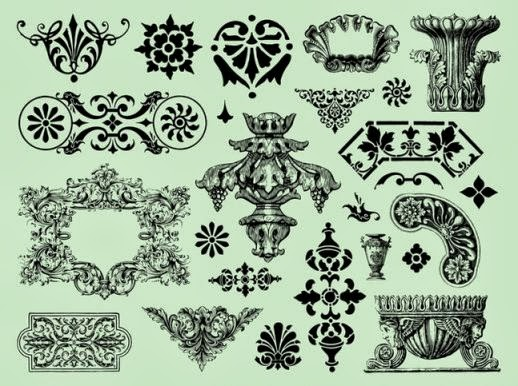 free vectors, vectors free, clip art, clipart, ornament, ornaments