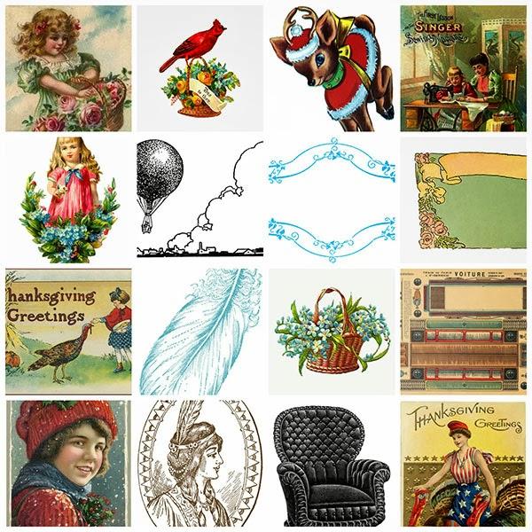 clip art, clipart, vintage, free, freebies,